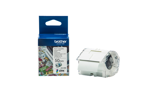 Brother, CZ-1005, Full, Colour, continuous, label, roll, 50mm, wide, to, Suit, VC-500W,