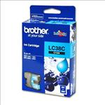 Brother, LC38, Cyan, Ink, Cart, (260, pages),