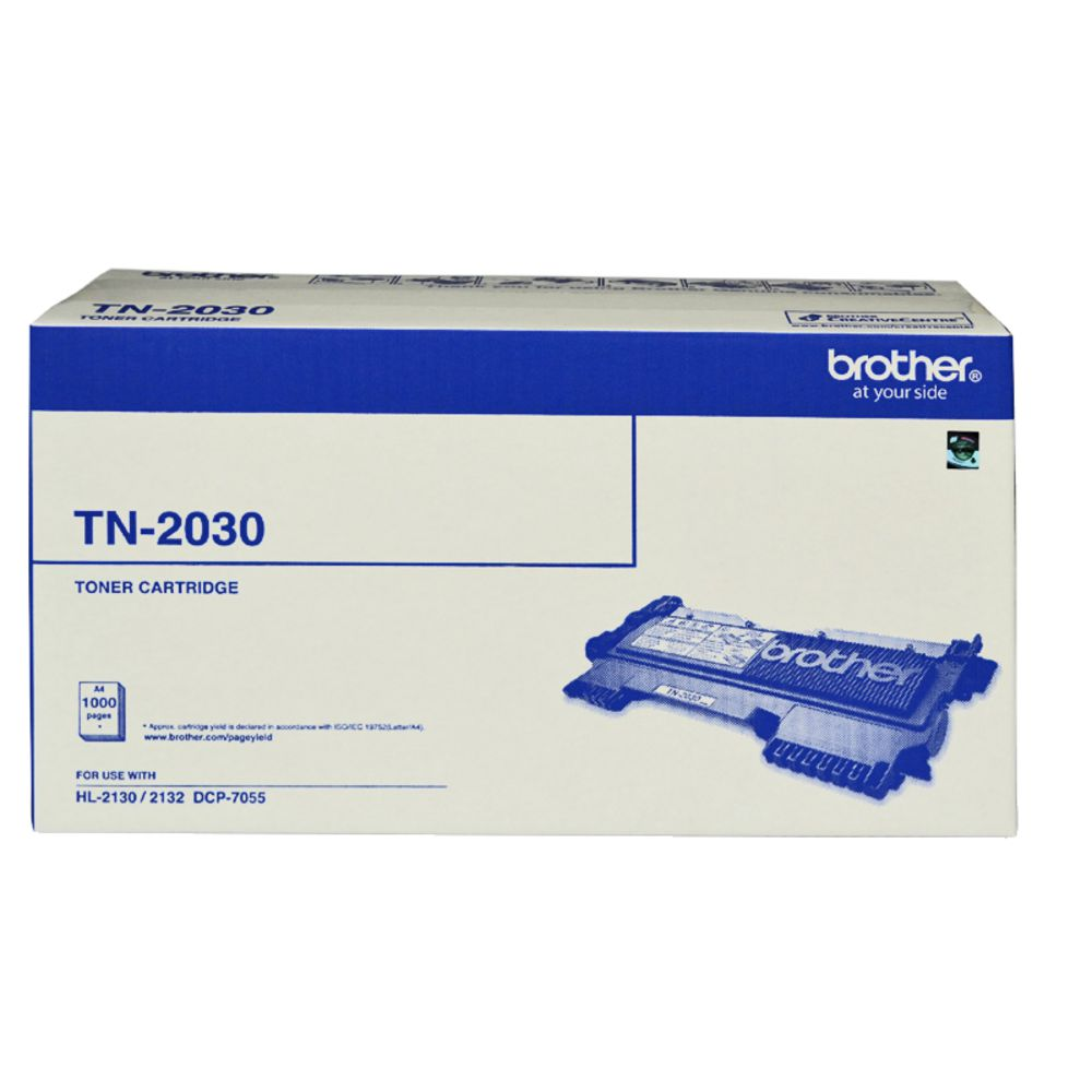 Brother, TN-2030, Mono, Laser, Toner, HL-2130/2132/2135W, DCP-7055-, up, to, 1, 000, pages,