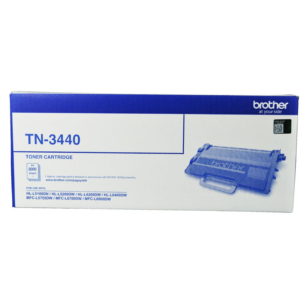 Brother, TN-3440, Mono, Laser, Toner, -, High, Yield-, HL-L5100DN, L5200DW, L6200DW, L6400DW, &, MFC-L5755DW, L6700DW, L6900DW, up,