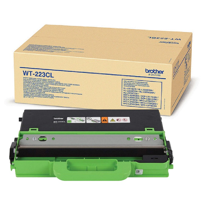 Brother, WT-223CL, Waste, toner, box, to, suit, HL-3230CDW/3270CDW/DCP-L3510CDW/MFC-L3745CDW/L3750CDW/L3770CDW, (50, 000, Pages),