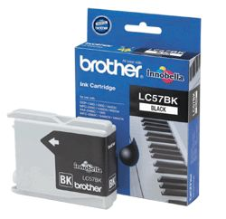 Brother, LC57, Black, Ink, Cart, (500, pages),