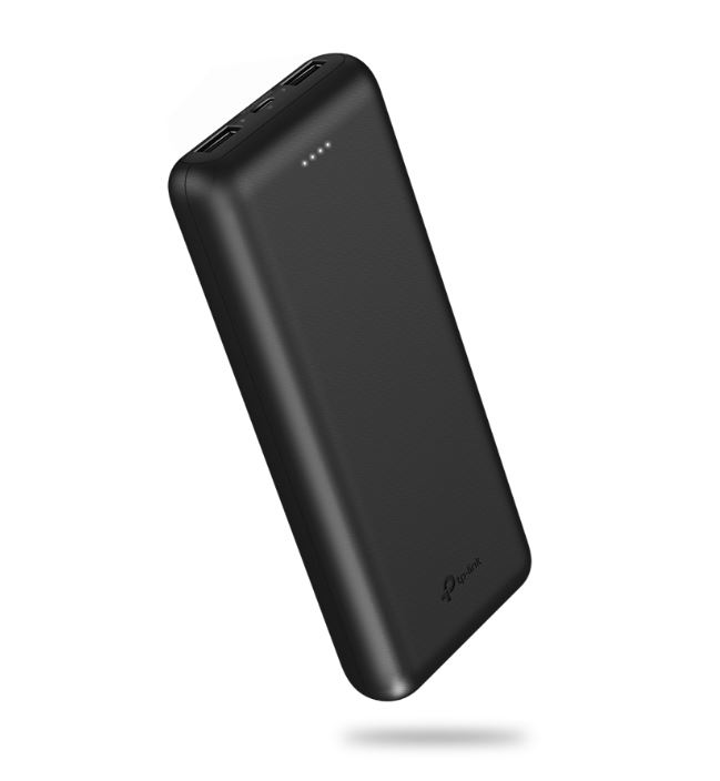 TP-LINK, 20000mAH, POWER, BANK, 2.1A, FAST, CHARGE, USB(2), MICRO, USB(1), 1YR, WTY,