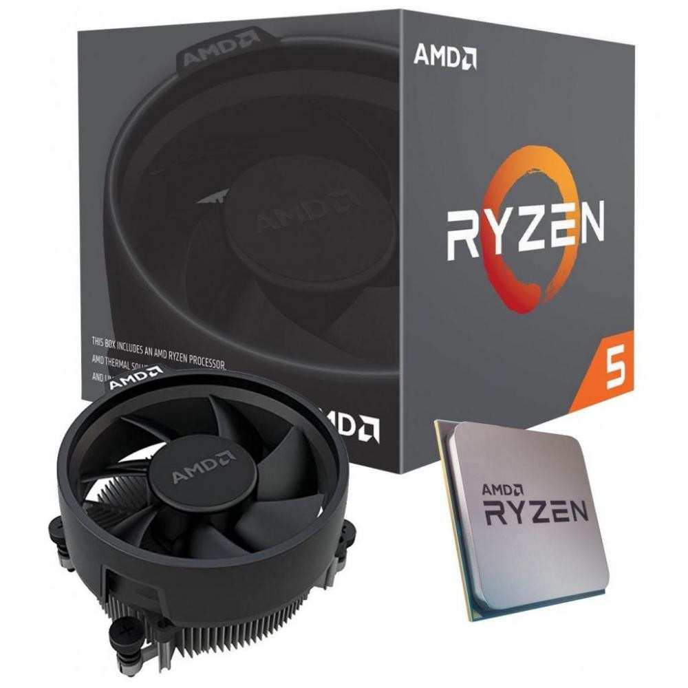 AMD, Ryzen, 5, 3400G, 4, Core, AM4, CPU, 3.7GHz, 4MB, 65W, w/Wraith, Stealth, Cooler, Fan, RX, Vega, Graphics, Box,