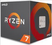 AMD, Ryzen, 7, 2700, 8, Cores, AM4, CPU, 4.1GHz, 20MB, 65W, w/Wraith, Spire, LED, Cooler, Fan, Box,
