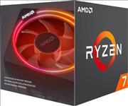 AMD, Ryzen, 7, 3700X, 8, Core, AM4, CPU, 3.6GHz, 4MB, 65W, w/Wraith, Prism, Cooler, Fan,