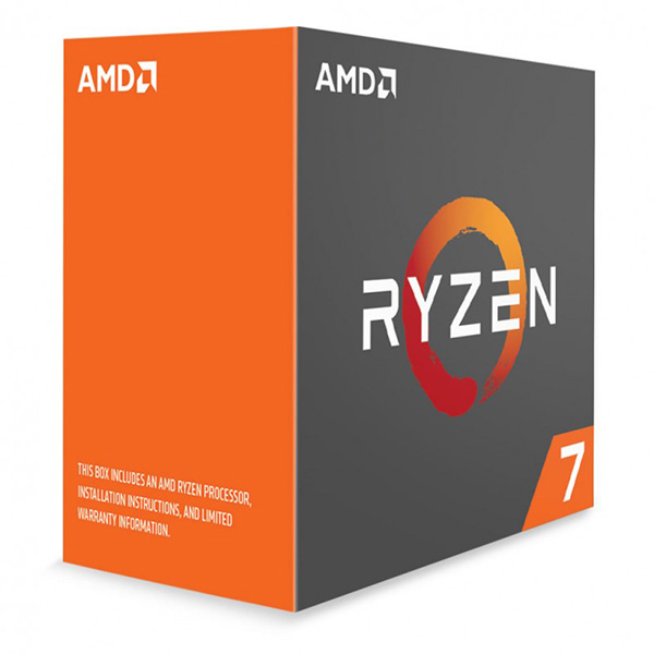 AMD, Ryzen, 7, 1800X, CPU, 8, Core, Unlocked, 3.6GHz, Base, Speed, with, Turbo, Speed, 4GHz, AM4, 95w, 16MB, L3, cache, Boxed, 3, Years, Warran,
