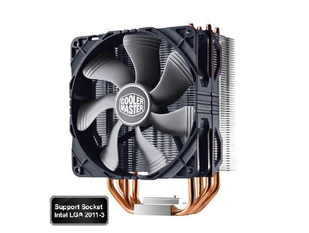Coolermaster, Hyper, 212X, Cooler, Multi-Socket, 2011-3, 120CM, 9, -, 36, dBA, HSF, CPU, Cooler., AM4, BRACKET, Required., PART#, CFCM-AM,