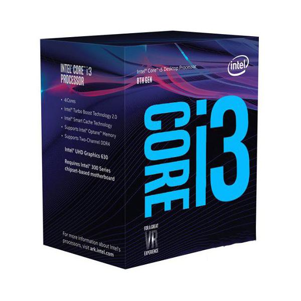 Intel, Core, i3-8350K, 4Ghz, No, Fan, Unlocked, s1151, Coffee, Lake, 8th, Generation, Boxed, 3, Years, Warranty,
