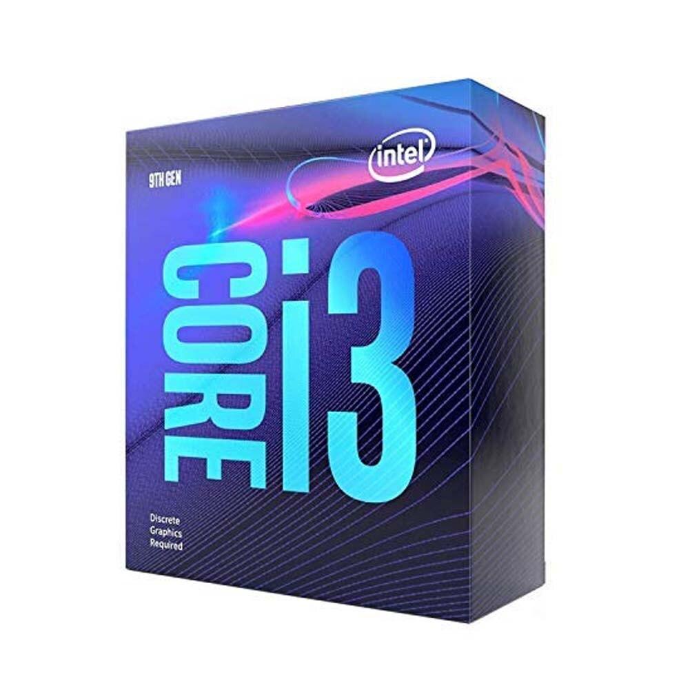 Intel, CORE, I3-9100F, 3.6GHZ, 6MB, 4C/4T,