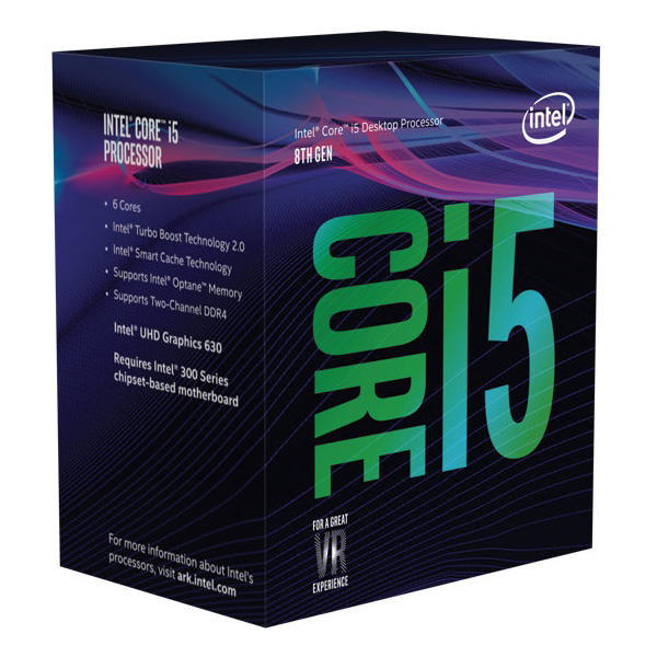 Intel, CORE, i5-8400, 2.80GHZ, 9MB,