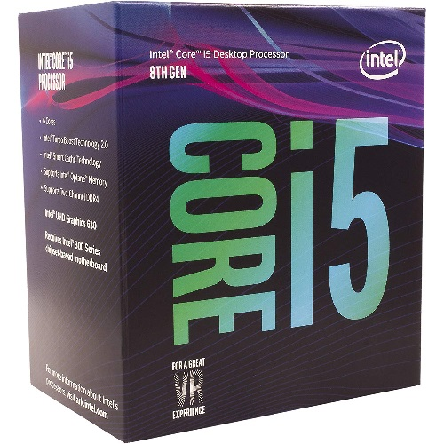 Intel, CORE, I5-8500, 3.00GHZ, 9M, LGA1151,
