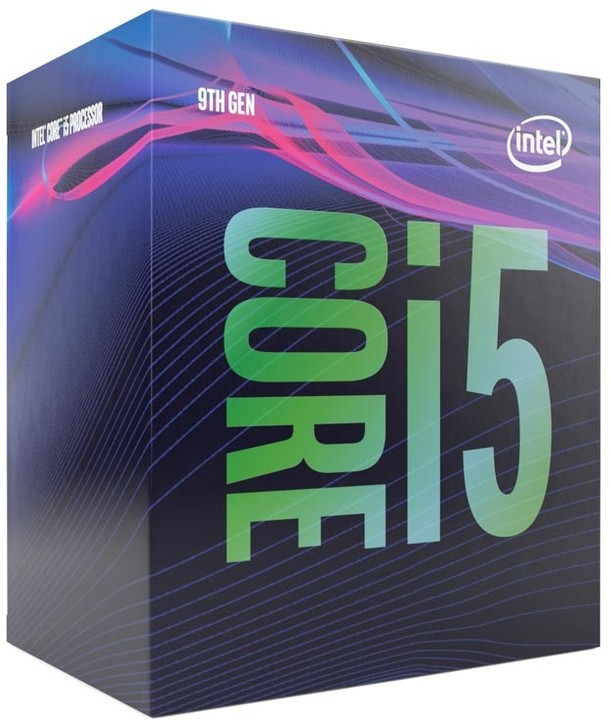 Intel, Core, i5-9500, 3.0Ghz, s1151, Coffee, Lake, 9th, Generation, Boxed, 3, Years, Warranty,
