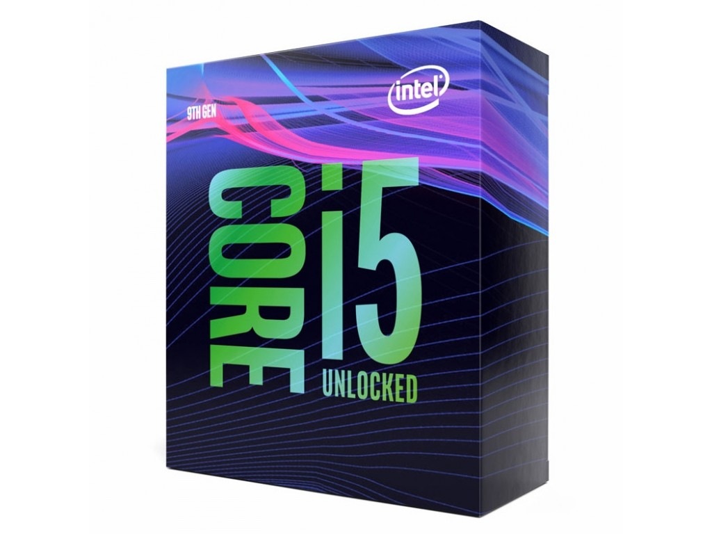 Intel, CORE, I5-9600K, 3.7GHZ, 9MB, LGA1151, 6C/6T,