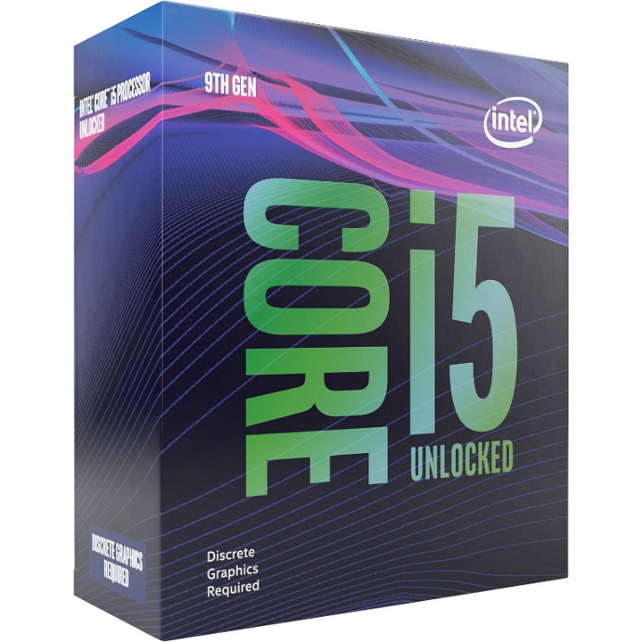 Intel, CORE, I5-9600KF, 3.7GHZ, 9MB, LGA1151, 6C/6T,