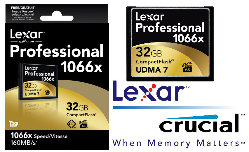 Lexar, 1066x, 32GB, Compact, Flash, CF, Card, Upto, 160MB/s, VPG-65, Standard, (LS),