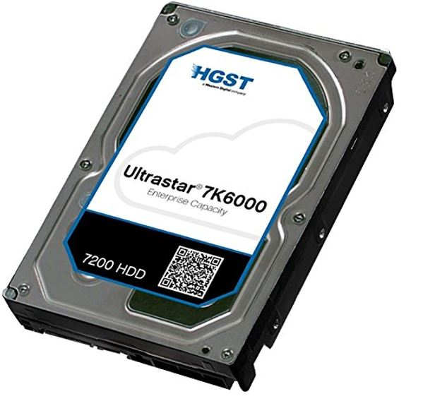 HGST, 3.5, 2TB, 128MB, 7200RPM, SATA, 512E, ISE, 7K6000, 0F23009, -, 5, Years, Warranty, -, Hitachi,