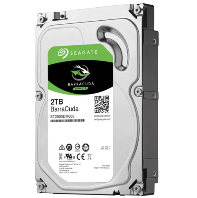 Seagate, BARRACUDA, 2TB, DESKTOP,