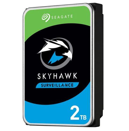 Hard Disks - Internal/Seagate-skyhawk: SEAGATE, SKYHAWK, 2TB, SURVEILLANCE, 180TB/YR, 64MB, CACHE, 3YRS, WARRANTY,