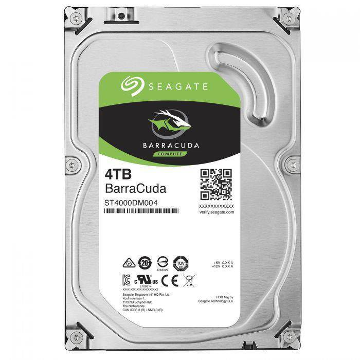 Seagate, BARRACUDA, 3.5, 4TB, DESKTOP,