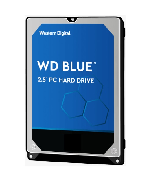 Western, Digital, WD, Blue, 2TB, 2.5, SATA, PC, HDD, 2.5, 5400RPM, 6Gb/s, 128MB, Cache, 2yrs, Wty, -, WD20SPZX,