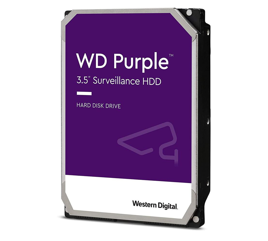 Western, Digital, WD, Purple, 1TB, Surveillance, 3.5, SATA3, 6Gb/s, 64MB, 5400, RPM, Hard, Drive,