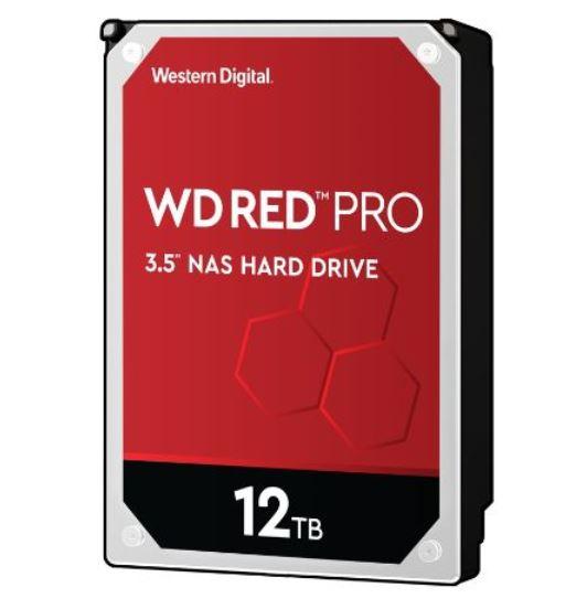 Western, Digital, WD, RED, PRO, 12TB, NAS, INTERNAL, HARD, DRIVE, -, 7200, RPM, CLASS, SATA, 6, GB/S, 256, MB, CACHE, 3.5IN,