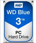 WD, Blue, 3TB, SATA3, 64MB, 3.5, 5400RPM, 6Gb/s, 64MB, Cache,