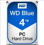 WD, Blue, 4TB, SATA3, 64MB, 3.5, 5400RPM, 6Gb/s, 64MB, Cache, HDD,