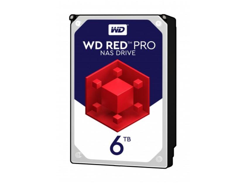 WD, 6TB, Red, Pro, WD6003FFBX, 7200, rpm, SATA, III, 3.5, Internal, NAS, HDD,