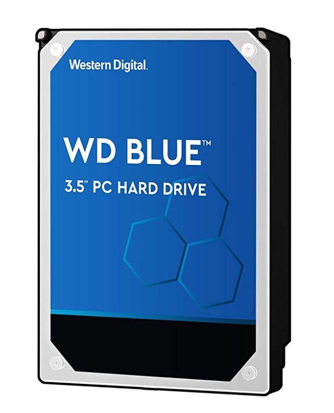 WD, Blue, 6TB, SATA3, 256MB, 3.5, 5400RPM, 6Gb/s, HDD,