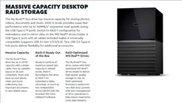 WD, My, Book, Duo, 12TB, Desktop, RAID, External, Hard, Drive, USB, 3.1, Gen2, -, Black, Hardware, Encryption., 3, Years, Warranty,