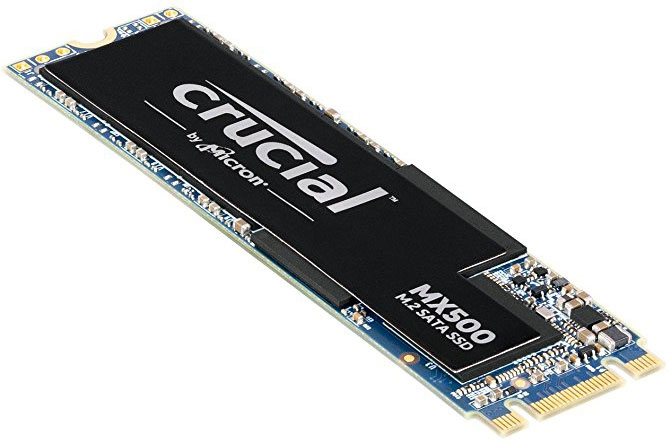 Crucial, MX500, 500GB, M.2(2280), 3D, NAND, SATA, SSD-Read, up, to, 560MB/s, Write, up, to, 510MB/s, (includes, Acronis, True, Image, HD, So,