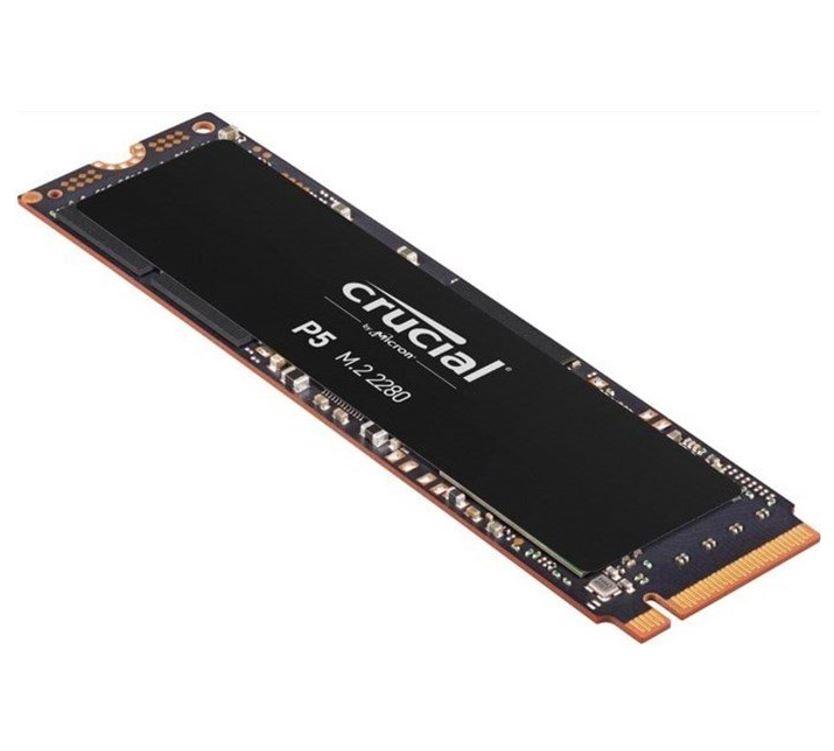 Crucial, P5, 500GB, 3D, NAND, NVMe, PCIe, M.2, SSD, 3400R/3000W(seq)MB/s, [CT500P5SSD8], 5yr, wty,