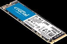 Crucial, P1, 2TB, 3D, NAND, NVMe, PCIe, M.2, SSD, 2000R/1750W, MB/s, [CT2000P1SSD8], 5yr, wty,