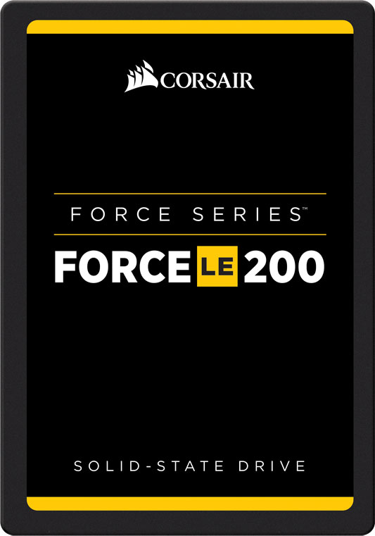 Corsair, Force, LE200, 120GB, 2.5, SATA, III, SSD, -, TLC, 550/500, MB/s, 55/40K, IOPS, 7mm, LS,