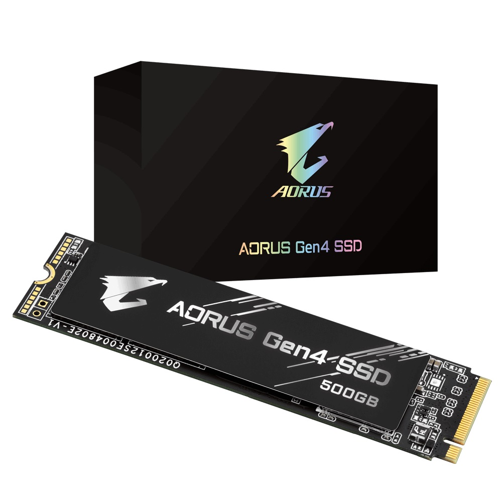GIGABYTE, 500GB, AORUS, GEN4, NVMe, M.2, PCIe4, SSD, UP, TO, READ, 5000MB/s, WRITE, 2500MB/s, 5YR, WTY,