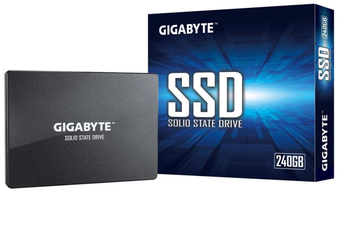 GIGABYTE, 240GB, SSD, 2.5, SATA, UP, TO, READ, 500MB/s, WRITE, 480MB/s, 200TBW, 3YR, WTY,
