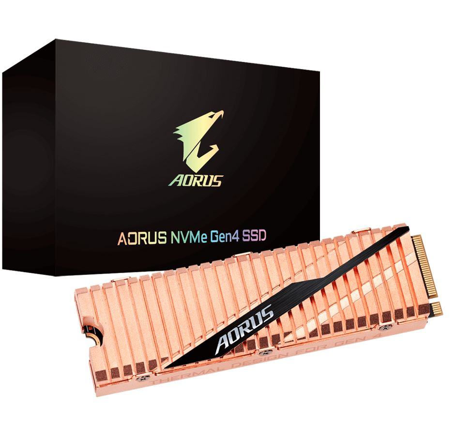 GIGABYTE, AORUS, NVMe, GEN4, SSD, 1TB, M.2, 2280, PCIe, UP, TO, READ, 5000, MB/s, WRITE, 4400, MB/s, 5YR,