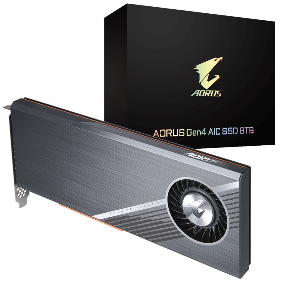 GIGABYTE, AORUS, NVMe, GEN4, AIC, 8TB, PCIe, SSD, UP, TO, READ, 15000MB/s, WRITE, 15000MB/s, 5YR, WTY,