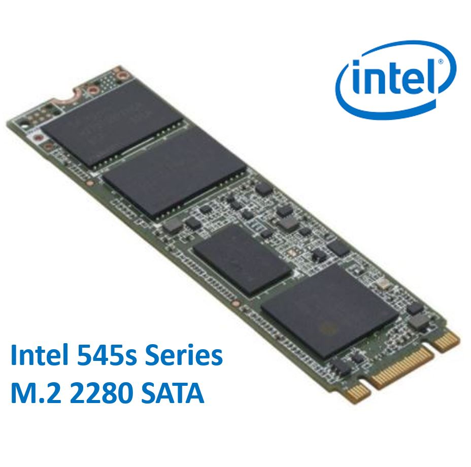 Intel, 545s, Series, M.2, 2280, 128GB, SSD, SATA3, 6Gbps, 550/500MB/s, TCL, 3D, NAND, 75K/85K, IOPS, 1.6, Million, Hours, MTBF, SFF, Solid, S,