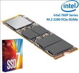 Intel, 760P, Series, M.2, 80mm, 256GB, SSD, 3D2, TLC, PCIe, NVMe, 3210/1315MB/s, 205K/265K, IOPS, 1.6, Million, Hours, MTBF, Solid, State, D,
