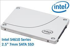 Intel, DC, S4610, 2.5, 240GB, SSD, SATA3, 6Gbps, 3D2, TCL, 7mm, 560R/320W, MB/s, 92K/28K, IOPS, 3xDWPD, 2, Mil, Hrs, MTBF, Data, Center, Serv,