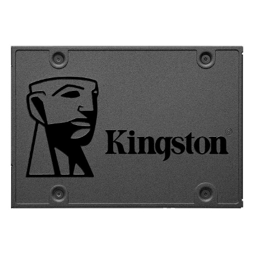 Kingston, A400, 480GB, 2.5, SATA3, 6Gb/s, SSD, -, TLC, 500/450, MB/s, 7mm, Solid, State, Drive, 1, mil, hrs, MTBF, 3yrs,