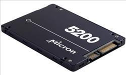 Micron, 5200, ECO, 1.92TB, 2.5, SATA3, 6Gbps, 7mm, Server, Data, Centre, SSD, 3D, TLC, NAND, 540R/520W, MB/s, 95K/22K, IOPS, 1DWPD, 3, Mil, h,