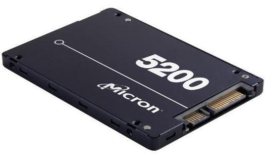 Micron, 5200, ECO, 480GB, 2.5, SATA3, 6Gbps, 7mm, Server, Data, Centre, SSD, 3D, TLC, NAND, 540R/385W, MB/s, 81K/33K, IOPS, 1DWPD, 3, Mil, hr,