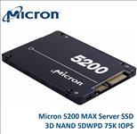 Micron, 5200, MAX, 240GB, 2.5, SATA3, 6Gbps, 7mm, Server, Data, Centre, SSD, 3D, TLC, NAND, 540R/310W, MB/s, 88K/53K, IOPS, 5DWPD, 3, Mil, hr,