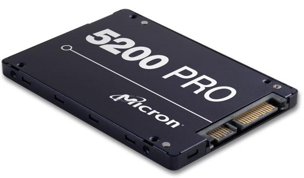 Micron, 5200PRO, 1.92TB, SATA, 2.5, 3D, Nand, TLC, Non-SED, SSD, R/W, 540-520MBs, 95K-70K, IOPS, 5y,
