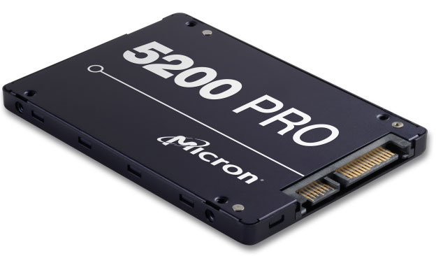 Micron, 5200, PRO, 960GB, 2.5, SATA3, 6Gbps, 7mm, Server, Data, Centre, SSD, 3D, TLC, NAND, 540R/520W, MB/s, 95K/32K, IOPS, 2DWPD, 3, Mil, hr,