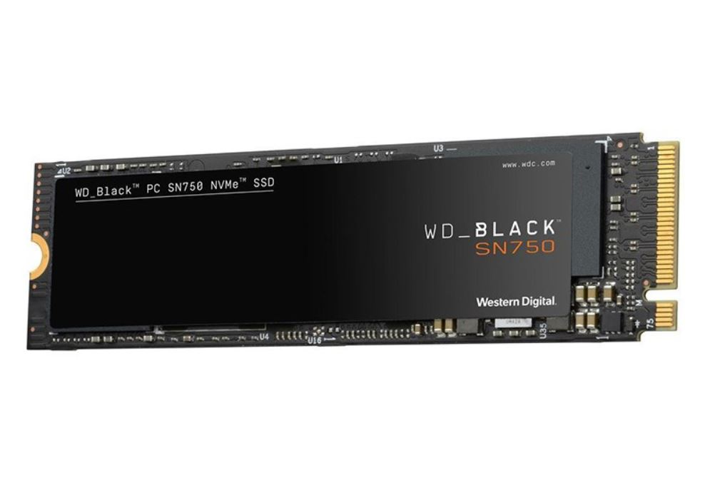 Western, Digital, WD, 1TB, Black, NVME, SSD, M.2,